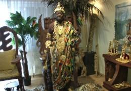 König Bansah aus Ghana lebt in Ludwigshafen