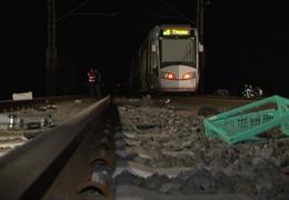 Unfall an Bahnübergang