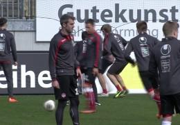 FCK vor dem Spiel gegen Sandhausen