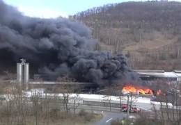 Großbrand in Braubach