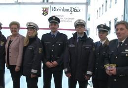 Einheitliche Polizeiuniform