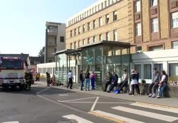 Brand im Marienhaus-Klinikum in Bitburg