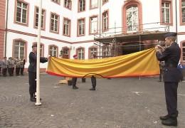 Bundeswehr verläßt Osteiner Hof in Mainz
