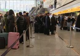 Pilotenstreik am Frankfurter Flughafen