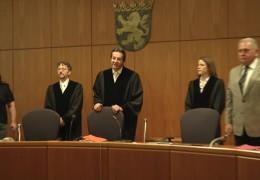 Totschlagprozess vor dem Frankfurter Landgericht
