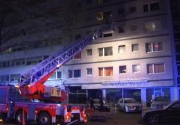 Großeinsatz für die Frankfurter Feuerwehr