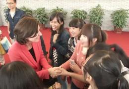 Ministerpräsidentin Dreyer trifft auf Chinareise Studenten