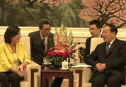 Ministerpräsidentin Malu Dreyer von China-Reise zurück und zu Gast im Studio