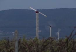 Frostschutz-Windräder in der Südpfalz
