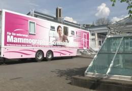Brustkrebs-Mobil unterwegs in Rheinland-Pfalz
