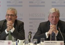Hundert-Tage-Bilanz der schwarz-grünen Regierung in Hessen