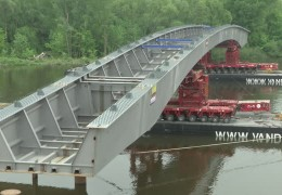 Carl-Ulrich-Brücke in Offenbach