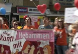 Hebammen Demo