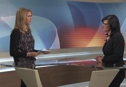 Ines Jahnel, Lärmbeauftragte der Deutschen Bahn AG, zu Gast im Studio