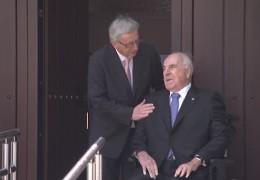 Jean-Claude Juncker besucht Altkanzler Helmut Kohl