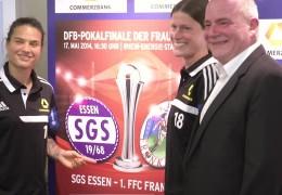 FFC Frankfurt spielt um den DFB-Pokal