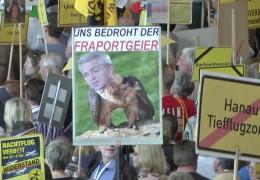 100.Demo gegen Fluglärm