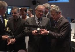 Gauck bei der ESA