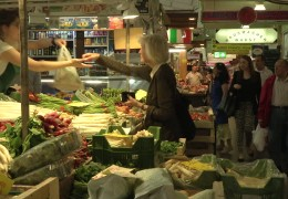 Kleinmarkthalle in Frankfurt feiert Geburstag