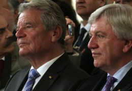 Bundespräsident Joachim Gauck in Hessen