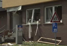Bankautomat explodiert