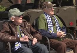 D-Day Veteranen auf der Air Base in Ramstein