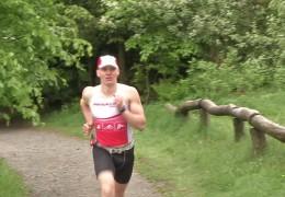 Blinder Langstreckenläufer