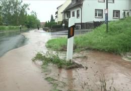 Unwetter in Wolfhagen