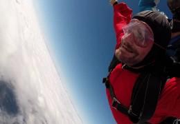 Fallschirmsprung – Abnehmen für den großen Traum