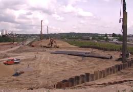 Baustelle in Frankfurt-Riederwald sorgt für Probleme