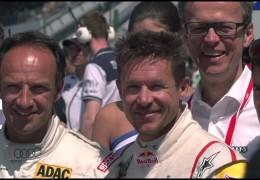 Extremsportler Felix Baumgartner beim 24-Stunden-Rennen