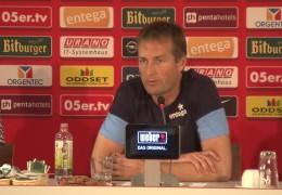 Erstes Training bei Mainz 05