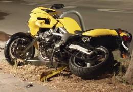 Schwerer Motorradunfall in der Pfalz