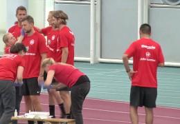 Bundesliga: Laktattest bei den Eintracht Profis