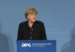 Angela Merkel zu Gast in Frankfurt