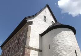 Baustelle am Kloster Lorch fertig