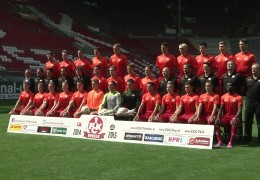 Offizielles Mannschafts-Fotoshooting beim FCK