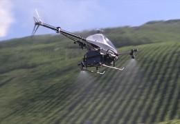 Drohneneinsatz im Weinbau