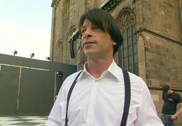 Nibelungen-Schauspieler André Eisermann zu Gast im Studio