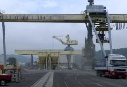 Der Hafen in Andernach