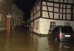 Heftige Unwetter in Rheinland-Pfalz und Hessen