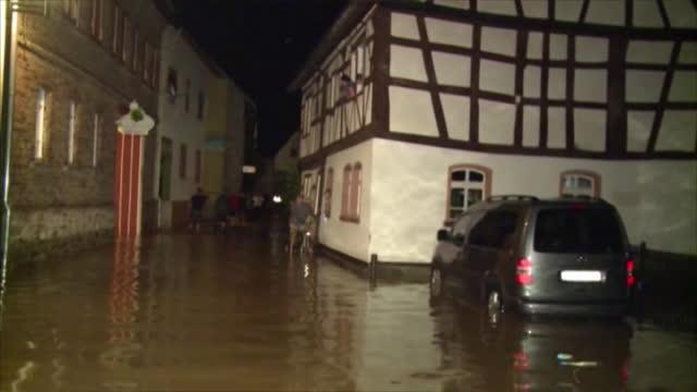 Unwetter Rheinland