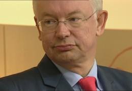 Bilfinger-Chef Roland Koch nach dem überraschenden Rückzug