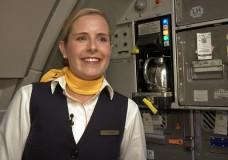 Studentenjob über den Wolken: Stewardess