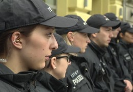 Kennzeichnungspflicht für Polizeibeamte