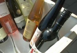 Wein in die Antarktis verschickt