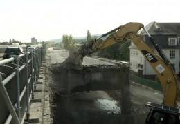 Sanierungsarbeiten an der Koblenzer Europabrücke