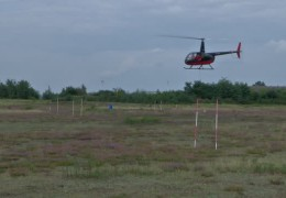 Deutscher Meister im Hubschrauber-Präzisionsflug
