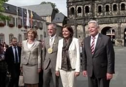 Bundespräsident Joachim Gauck zu Gast in Rheinland-Pfalz