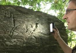 Eine Sensation für die Forschung – Felsgravuren im Hunsrück